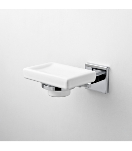 Wall mounted ceramic soap dish Plano