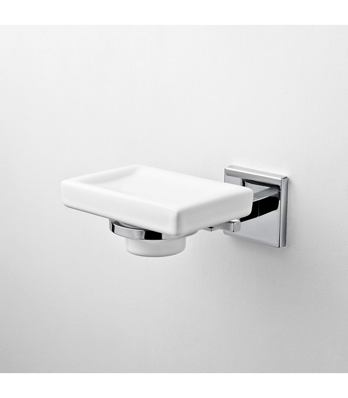 Wall Mounted Ceramic Soap Dish Plano Ism