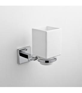 Wall mounted ceramic tumbler holder Plano