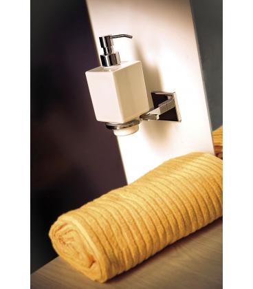 Wall mounted ceramic soap dispenser holder Plano
