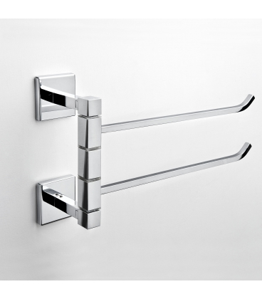 Wall mounted double towel holder Plano