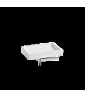 Plano freistehender Seifenhalter aus Porzellan