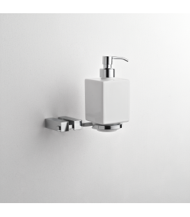 Wall mounted ceramic soap dispenser holder Cipro