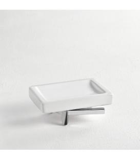 Ceramic standing soap dish holder Cipro