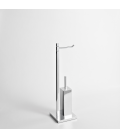 Toilet paper and brush holder Cipro