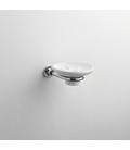 Wall mounted ceramic soap dish holder Alfa