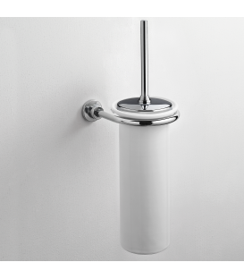 Ceramic wall-mounted toilet brush holder Alfa
