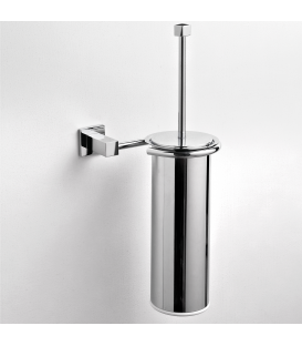 Metal wall-mounted toilet brush holder Creta
