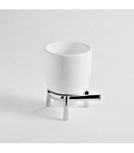 Ceramic standing tumbler holder Kios