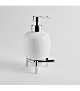 Ceramic standing soap dispenser holder Kios