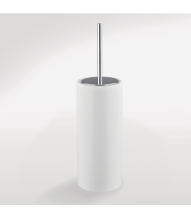 Ceramic standing toilet brush holder Kios