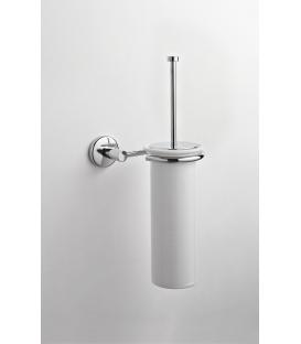 Ceramic wall-mounted toilet brush holder Idra