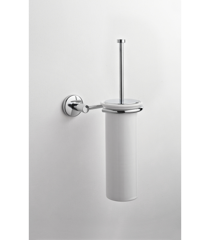 Ceramic Wall Mounted Toilet Brush Holder Idra