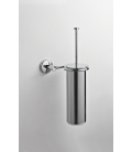 Brass wall-mounted toilet brush holder Idra