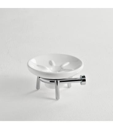 Ceramic standing soap dish holder Idra