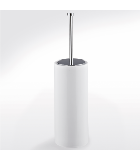Ceramic toilet brush holder Idra