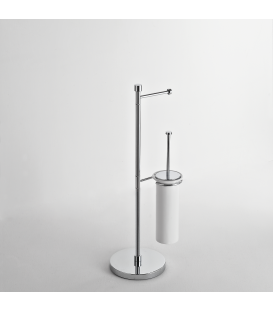Toilet stand Ceramic toilet brush holder Idra