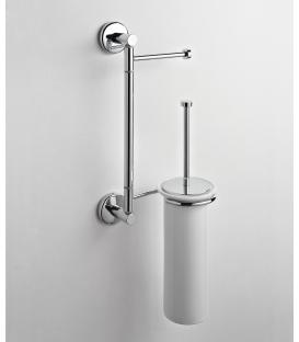 Wall-mounted toilet stand ceramic toilet brush holder Idra