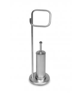 Bathroom Stand P38 Satin Chrome