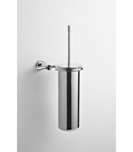 Brass wall-mounted toilet brush holder Paros