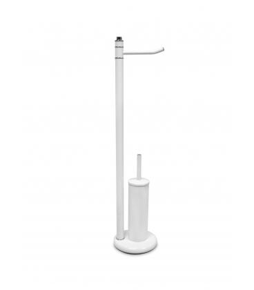 Stojak łazienkowy P51 Biały Chrom