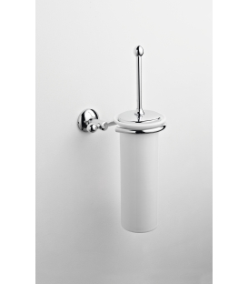 Ceramic wall-mounted toilet brush holder Zacinto
