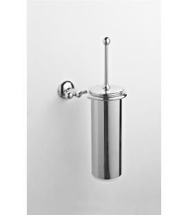 Brass wall-mounted toilet brush holder Zacinto