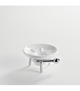 Ceramic standing soap dish holder Zacinto
