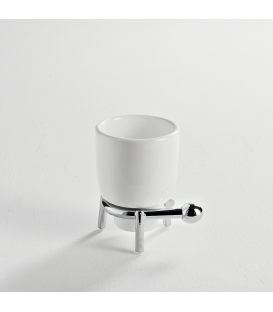 Ceramic standing tumbler holder Zacinto