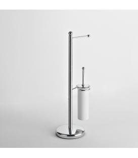 Toilet stand Ceramic toilet brush holder Zacinto