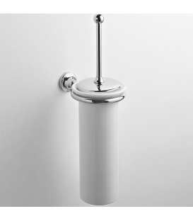 Ceramic wall-mounted toilet brush holder Rho