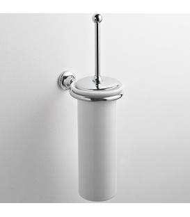 Ceramic wall-mounted toilet brush holder Rho
