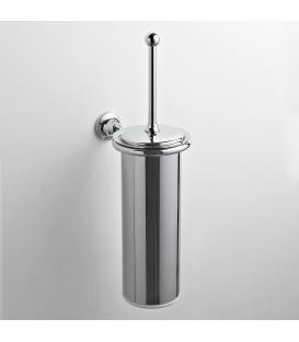 Brass wall-mounted toilet brush holder Rho