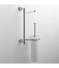 Wall-mounted toilet stand Ceramic toilet brush holder Rho