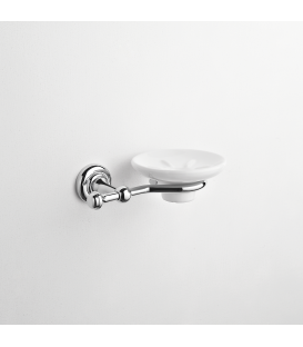 Wall mounted ceramic soap dish holder Eta