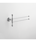 Wall mounted double towel holder Eta