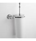 Ceramic wall-mounted toilet brush holder Eta