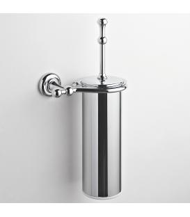Brass wall-mounted toilet brush holder Eta