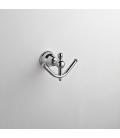 Bathroom double hook Omega