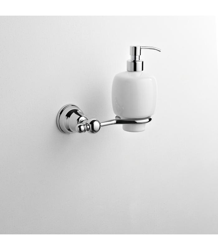 Wall Mounted Ceramic Soap Dispenser Holder Omega Ism