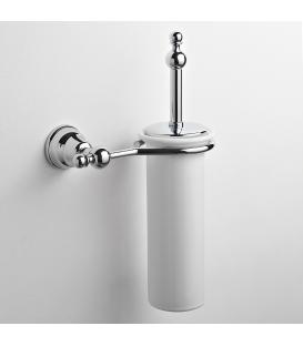 Ceramic wall-mounted toilet brush holder Omega