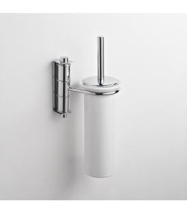Ceramic wall-mounted toilet brush holder Obra